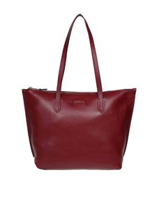 Furla - Shopping Luce M in pelle color Ciliegia