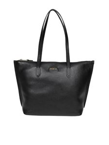 Furla - Shopping Luce M in pelle nera