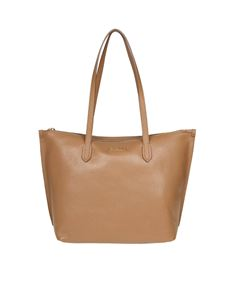 Furla - Shopping Luce M in pelle color Caramello