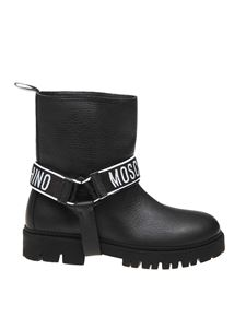 Moschino - Bikers boots in black