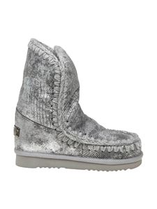 Mou - Eskimo 24 sneakers in silver leather
