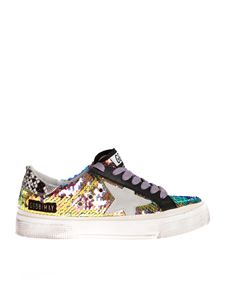 Golden Goose Deluxe Brand - May sneakers with iridescent sequins