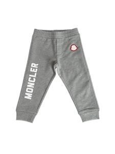 Moncler Jr - Grey cotton sweatpants