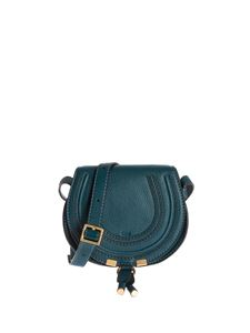 Chloé - Marcie leather Mini bag in Navy Ink color