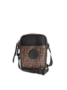 Fendi - Small cross body in shades of brown