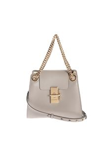 Chloé - Annie Mini shoulder bag in Motty Grey color