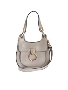 Chloé - Hobo Tess bag in Motty Grey color leather