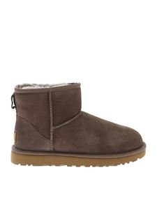 UGG Australia - Classic Mini II ankle boots in Dove grey