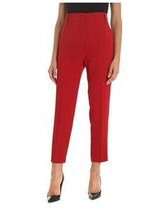 Pinko - Frullato trousers in red color