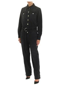 Pinko - Pax 1 denim suit in black