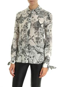 Pinko - Anything ivory colored shirt in silk