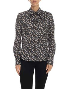 Vivienne Westwood  - Black shirt with floral print
