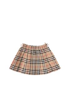 Burberry - Pleated skirt with Vintage Check pattern