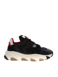 Ash - Eagle sneakers in black and red