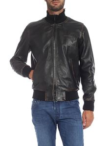 Golden Goose - Sadao bomber jacket in black leather