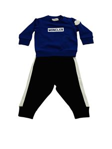 Moncler Jr - Moncler tracksuit in blue