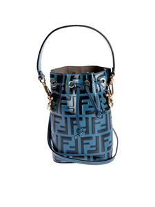 Fendi - Mon Tresor bucket bag in petroleum color