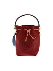 Fendi - Mon Tresor small bucket bag in red