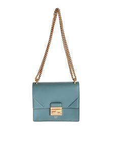 Fendi - Kan U Small Minibag in petroleum blue