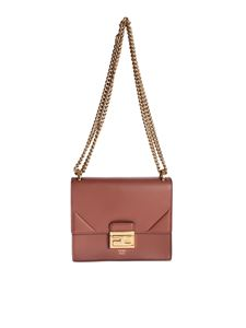 Fendi - Kan U Small Minibag in brick red
