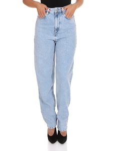 Isabel Marant Étoile - Corsy Jeans in light blue