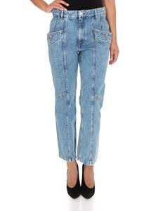 Isabel Marant Étoile - Notty jeans in Ice blue