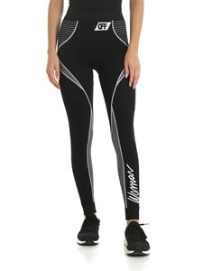Off-White - Leggings Athletic neri
