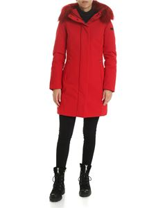 RRD Roberto Ricci Designs - Winter Long Lady down jacket in red