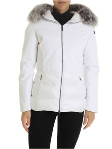 RRD Roberto Ricci Designs - Winter Hybrid Hood down jacket in white