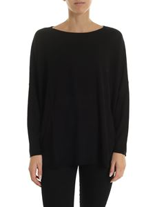 Kangra Cashmere - Silk and cashmere pullover in black