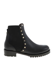 Valentino - Rockstud 20mm ankle boots in black
