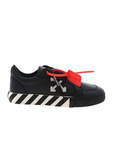 Off-White - Sneakers Low Vulcanized nere