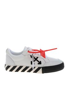 Off-White - Sneakers Low Vulcanized bianche
