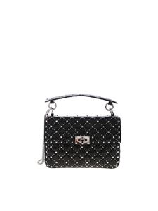 Valentino - Rockstud Spike.it shoulder bag in black