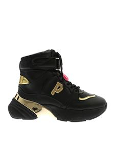 Pinko - Lugano 1 sneakers in black and gold