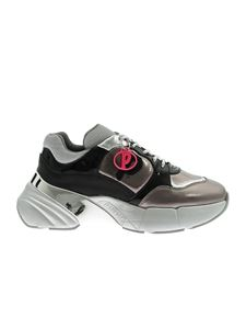 Pinko - Olivo sneakers in black and silver