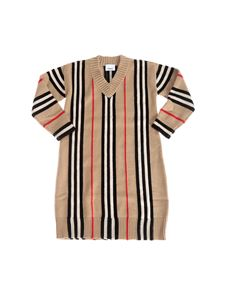 Burberry - Bianca dress with striped pattern