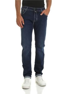 Jacob Cohën - Blue jeans with contrasting stitching