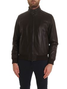 Aspesi - Steve jacket in brown leather