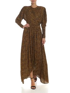 Isabel Marant - Jucienne dress in yellow and black