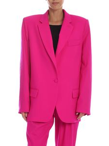The Attico - Fuchsia oversize jacket