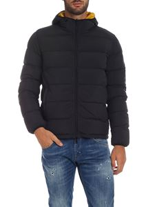 Herno - Reversible down jacket in black