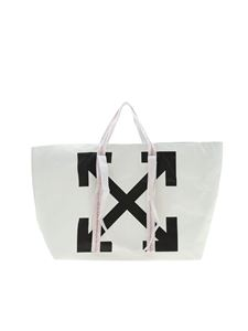 Off-White - New Commercial white tote bag