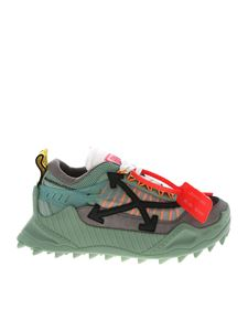 Off-White - Sneakers Odsy-1000 verdi e grigie