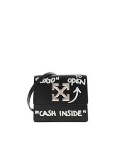 Off-White - Marsupio Jitney 0.7 Cash Inside nero