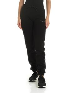 Gaelle Paris - Black trousers with sequined bands