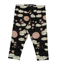 Elisabetta Franchi - Black printed leggings