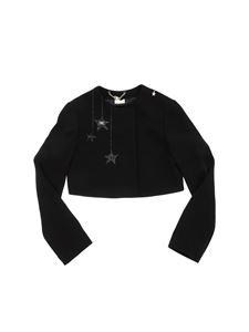 Elisabetta Franchi - Embroidered crop jacket