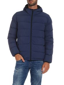 Herno - Reversible down jacket in blue