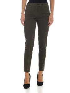 Dondup - Perfect trousers in dark green color
